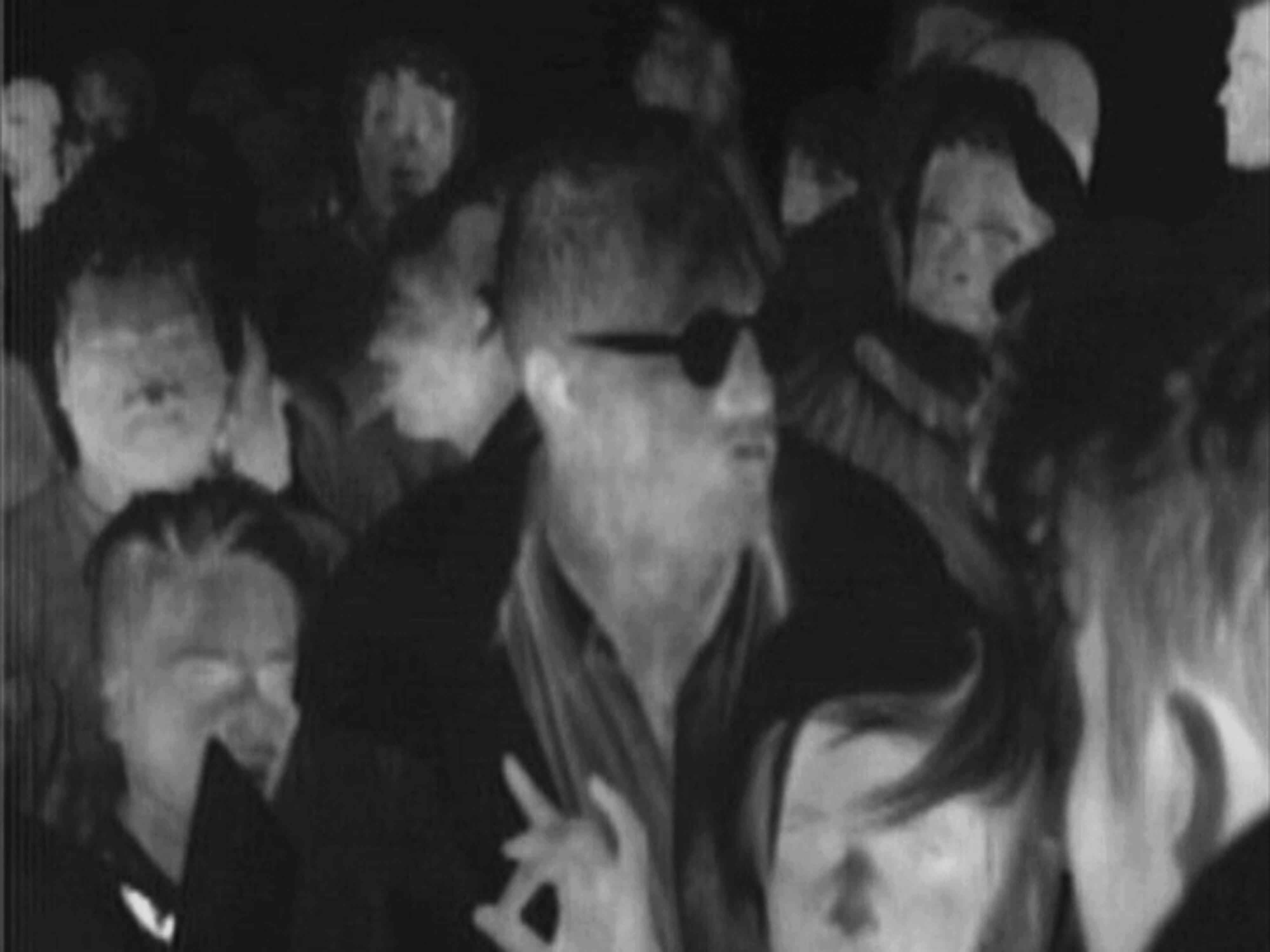 לי אורפז, ברקפסט, 2014, מתוך וידיאו חד-ערוצי, מצלמה תרמית, הקרנה דו-צדדית.
